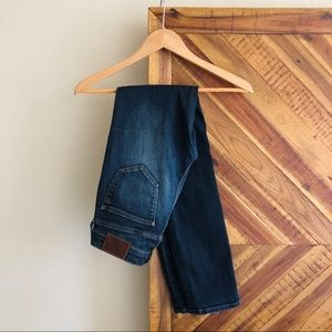 Madewell Alley Straight Leg Jeans Dark Wash Sz 26